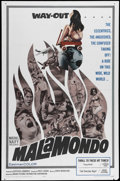"Movie Posters:Documentary, Malamondo (Magna, 1964). One Sheet (27"" X 41""). Marvin Miller narrates this documentary about strange practices in Europe. A..."
