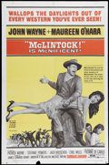 """Movie Posters:Western, McLintock (United Artists, 1963). One Sheet (27"""" X 41""""). John Wayne stars in this Western comedy as a cattle baron trying to..."""
