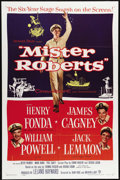 """Movie Posters:Comedy, Mister Roberts (Warner Brothers, 1955). One Sheet (27"""" X 41"""").Henry Fonda made his first film in seven years with his repri..."""