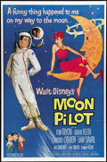 """Movie Posters:Comedy, Moon Pilot (Buena Vista, 1962). One Sheet (27"""" X 41""""). This Disney live action effort features Tom Tryon as an Air Force pil..."""
