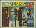 """Movie Posters:Horror, The Mummy (Universal, 1959). Lobby Cards (2) (11"""" X 14""""). Peter Cushing, Christopher Lee and Eddie Byrne -- three actors who... (Total: 2 Items)"""