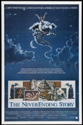 """Movie Posters:Fantasy, The NeverEnding Story (Warner Brothers, 1984). One Sheet (27"""" X 41""""). A magical book leads a troubled young boy into a world..."""