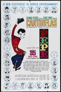 """Pepe (Columbia, 1960). One Sheet (27"""" X 41""""). When a big Hollywood star (Dan Dailey) buys Cantinflas' beloved..."""