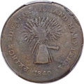 Canada, Canada: Prince Edward Island. Commerce & Trade 1/2 Penny Token 1840 F15 PCGS,...