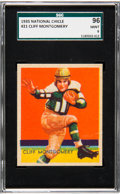 Football Cards:Singles (Pre-1950), 1935 National Chicle Cliff Montgomery #21 SGC 96 Mint 9 - Pop Two, None Higher....