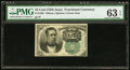 Fractional Currency:Fifth Issue, Fr. 1264 10¢ Fifth Issue PMG Choice Uncirculated 63 EPQ.. ...