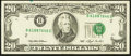 Error Notes:Shifted Third Printing, Fr. 2079-B $20 1993 Federal Reserve Note. Very Fine-Extremely Fine.. ...