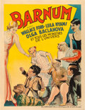 "Movie Posters:Horror, Freaks (MGM, 1932). Pre-War Belgian (24"" X 31""). Alternate Title:Barnum.. ..."