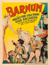 "Freaks (MGM, 1932). Pre-War Belgian (24"" X 31""). Alternate Title: Barnum"