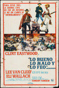 "Movie Posters:Western, The Good, the Bad and the Ugly (United Artists, 1968). ArgentineanPoster (29"" X 43""). Western.. ..."