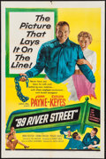 "Movie Posters:Crime, 99 River Street & Others Lot (United Artists, 1953). One Sheets(2) (27"" X 41"") & Lobby Cards (12) (11"" X 14""). Crime.. ...(Total: 14 Items)"