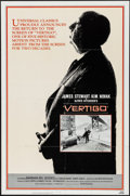 "Movie Posters:Hitchcock, Vertigo (Universal, R-1983). One Sheet (27"" X 41""). Hitchcock.. ..."