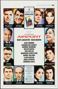 """Movie Posters:Drama, Airport & Other Lot (Universal, 1970). One Sheets (2) (27"""" X 41""""). Drama.. ... (Total: 2 Items)"""