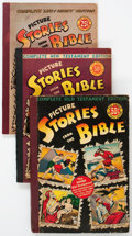 Golden Age (1938-1955):Religious, Picture Stories from the Bible Group of 7 (EC, 1940s-50s)Condition: Average VG.... (Total: 7 Items)