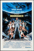 "Movie Posters:James Bond, Moonraker (United Artists, 1979). International One Sheet (27"" X41"") Advance. James Bond.. ..."