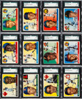 Baseball Cards:Sets, 1955 Topps Baseball Complete Set (206) With NM Koufax andKillebrew. ...