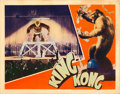 "Movie Posters:Horror, King Kong (RKO, 1933). Lobby Card (11"" X 14.5"").. ..."