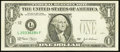 Error Notes:Obstruction Errors, Fr. 1929-L $1 2003 Federal Reserve Note. Very Fine-Extremely Fine.....
