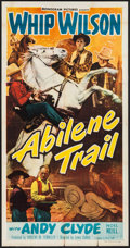 "Movie Posters:Western, Abilene Trail & Others Lot (Monogram, 1951). Three Sheets (3)(41"" X 79""). Western.. ... (Total: 3 Items)"
