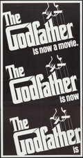 """Movie Posters:Crime, The Godfather (Paramount, 1972). Three Sheet (41"""" X 78.5""""). Crime....."""