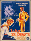 "Movie Posters:Adventure, Mark of the Renegade (Universal International, 1951). French Grande(47"" X 63""). Adventure.. ..."