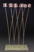 Fine Art - Sculpture, American:Contemporary (1950 to present), Val Bertoia (American, b. 1949). B-1905, 2015. Copperedsilvered to beryllium, brass. 24 x 12 x 10 inches (61.0 x 30.5 x...