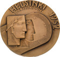 Miscellaneous Collectibles:General, 1952 Helsinki Summer Olympics Participation Medal....