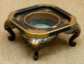 Asian:Japanese, A Japanese Partial Gilt and Lacquered Brazier, late 20th century. 9 h x 20 w x 20 d inches (22.9 x 50.8 x 50.8 cm). ...