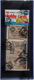 "Non-Sport Cards:Unopened Packs/Display Boxes, 1962 Topps ""Civil War News"" Rack Pack - BBCE..."