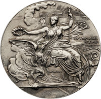 1896 Athens Summer Olympics Participation Medal