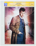 Memorabilia:Science Fiction, David Tennant Doctor Who Autographed Photo - CGC Signature Series (2016). ...