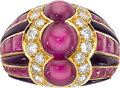 Estate Jewelry:Rings, Ruby, Diamond, Amethyst, Gold Ring, Bvlgari, French. ...
