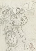 Original Comic Art:Illustrations, Curt Swan - Superman Illustration Original Art (1978)....