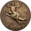 Miscellaneous Collectibles:General, 1900 Paris Exposition Universelle Bronze Medal....
