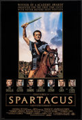 "Movie Posters:Action, Spartacus & Other Lot (Universal, R-1991). One Sheets (2)(26.75"" X 39.75"") DS & SS. Action.. ... (Total: 2 Items)"