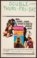 """Movie Posters:Science Fiction, Planet of the Apes (20th Century Fox, 1968). Window Card (14"""" X22""""). Science Fiction.. ..."""