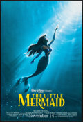"Movie Posters:Animation, The Little Mermaid (Buena Vista, R-1997). One Sheet (27"" X 40"") DS Advance. Animation.. ..."