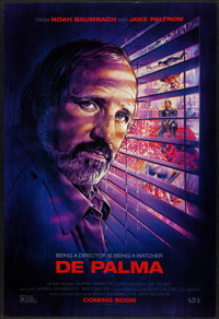 """De Palma & Other Lot (A24, 2016). One Sheets (2) (27"""" X 40"""") DS Advance. Documentary. ... (Total: 2 It..."""