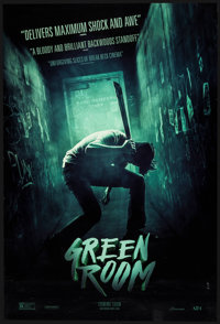 "Green Room & Others Lot (A24, 2015). One Sheets (5) (27"" X 40"") DS Advance. Horror. ... (Total: 5 Item..."