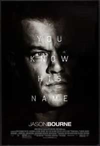 "Jason Bourne (Universal, 2016). One Sheets (2) (27"" X 40"") DS Advance & Regular Styles. Action. ... (T..."