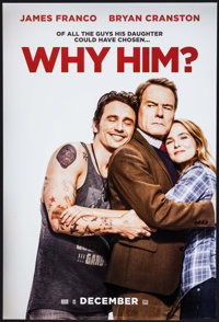 """Why Him? & Others Lot (20th Century Fox, 2016). One Sheets (3) (27"""" X 39"""" & 27"""" X 40""""..."""