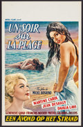 """Movie Posters:Foreign, Violent Summer (Royal Films, 1961). Belgian (14"""" X 22""""). Foreign.. ..."""
