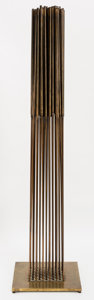 Post-War & Contemporary:Sculpture, Harry Bertoia (1915-1978). Sound Sculpture, 1972-1978.Bronze tops silvered to beryllium-copper rods silvered to brassb...