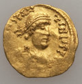 Ancients:Byzantine, Ancients: Constans II (AD 641-668). AV tremissis (1.41 gm)....