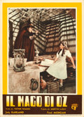 """Movie Posters:Fantasy, The Wizard of Oz (C.I.A., 1948). First Post-War Release Italian Photobustas (5) (13.5"""" X 19"""").. ... (Total: 5 Items)"""