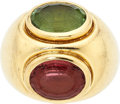 Estate Jewelry:Rings, Tourmaline, Gold Ring, Paloma Picasso for Tiffany & Co.. . ...