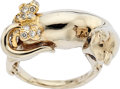 Estate Jewelry:Rings, Diamond, Sapphire, Gold Ring, Carvin French. ...