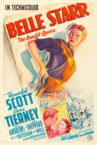 """Belle Starr (20th Century Fox, 1941). One Sheet (27"""" X 41"""") Style A"""