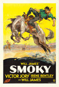 "Movie Posters:Western, Smoky (Fox, 1933). One Sheet (27"" X 41"").. ..."