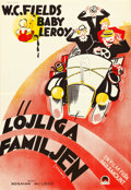 """Movie Posters:Comedy, It's a Gift (Paramount, 1934). Swedish One Sheet (27"""" X 39"""").. ..."""